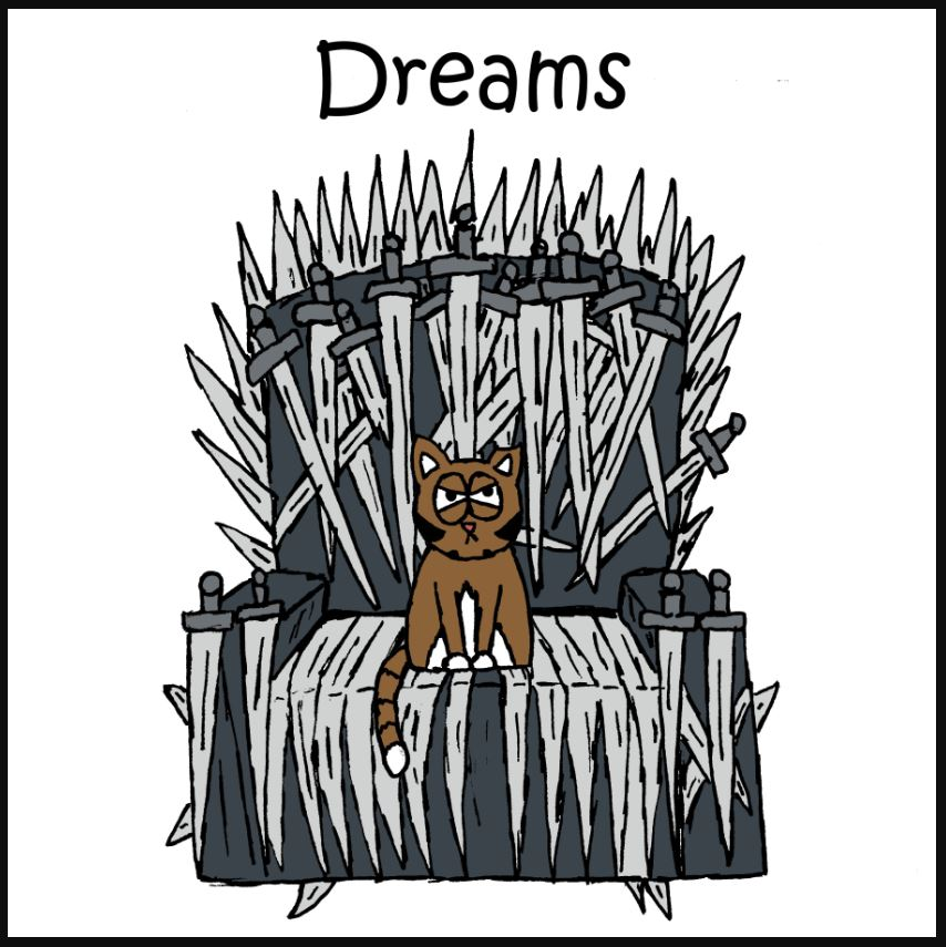 iizcat game of thrones comic 1