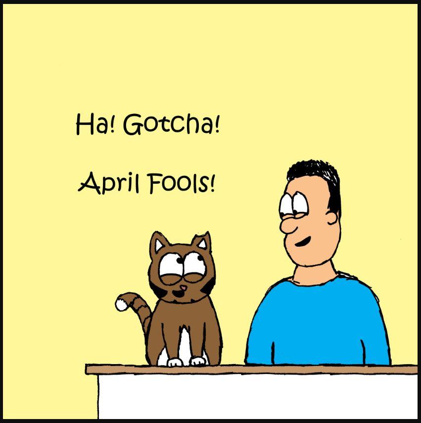 iizcat april fools comic 3