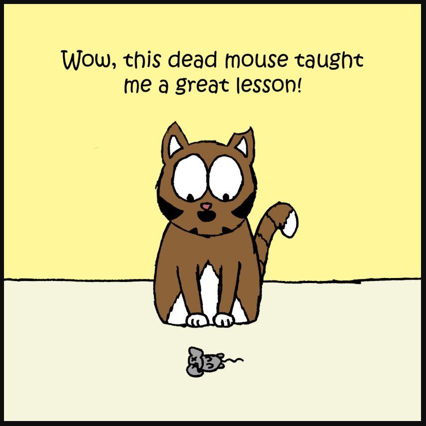 iizcat dead mouse comic 3