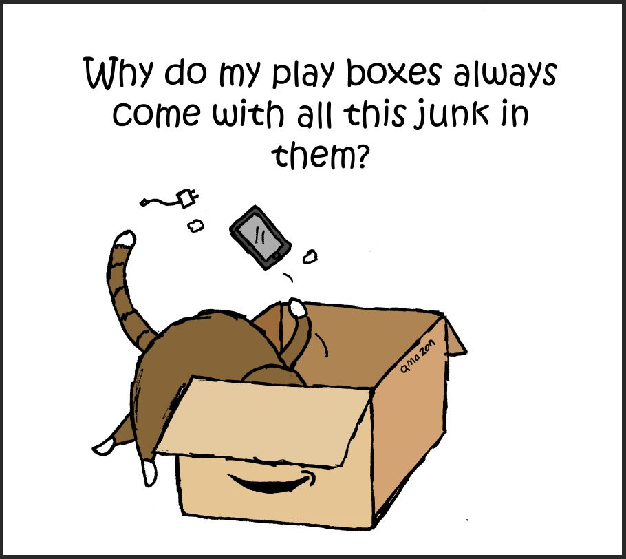 cat amazon comic 1