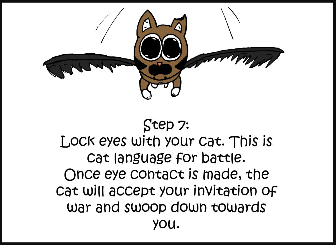 how to give a cat a pill comic 7