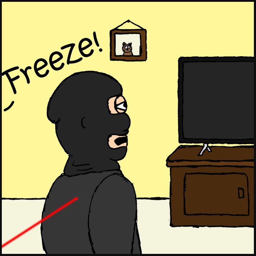 iizcat laser comic 1