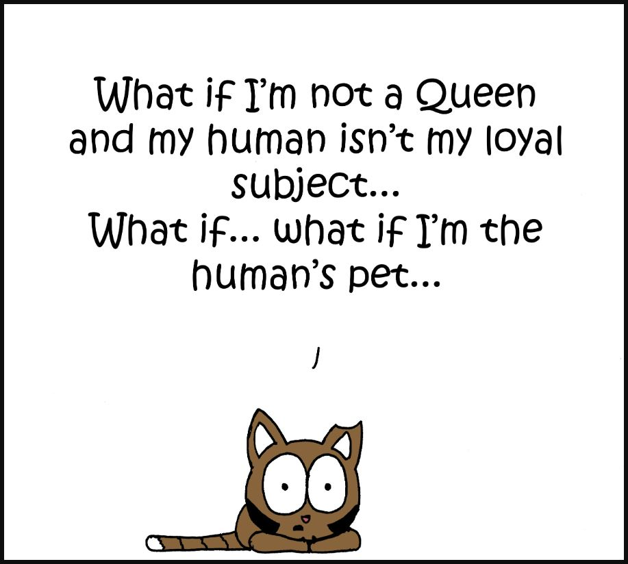 iizcat im the queen comic 2