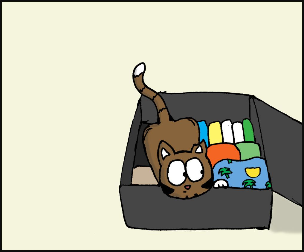 going on vacation cat comic 2