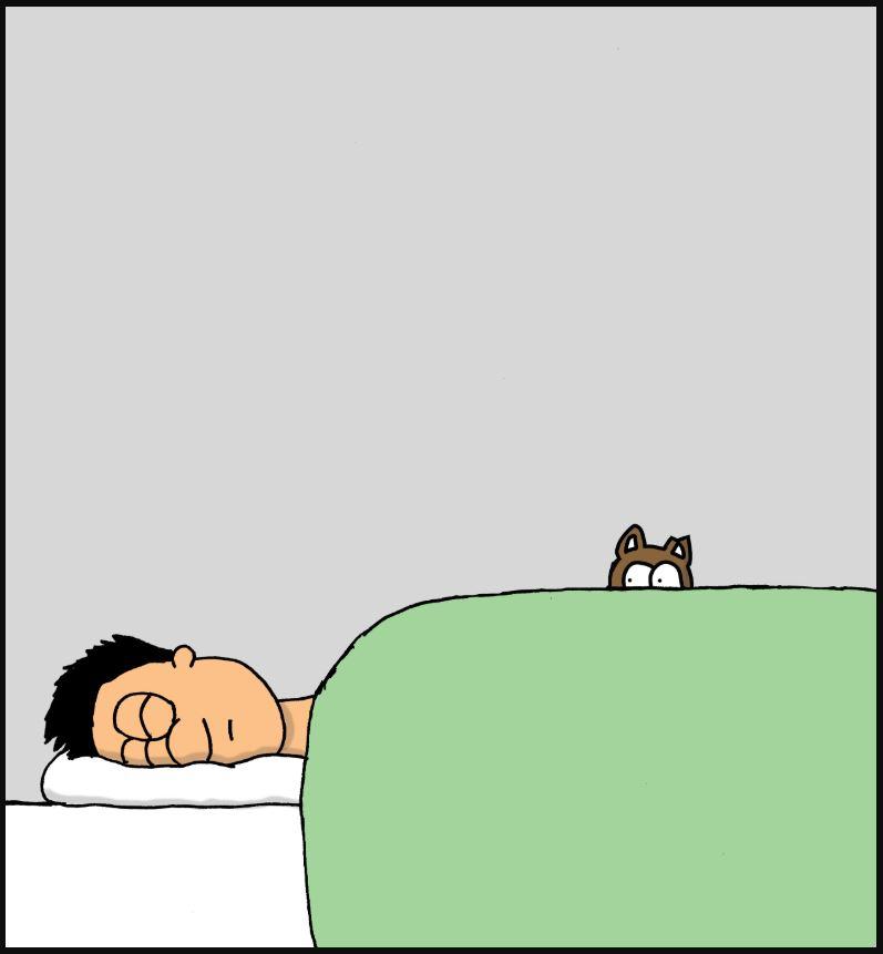 sleep in comic 1