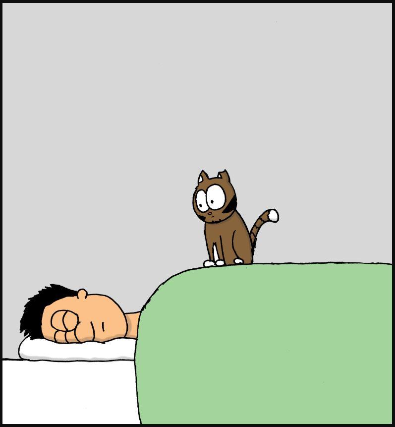 sleep in comic 3