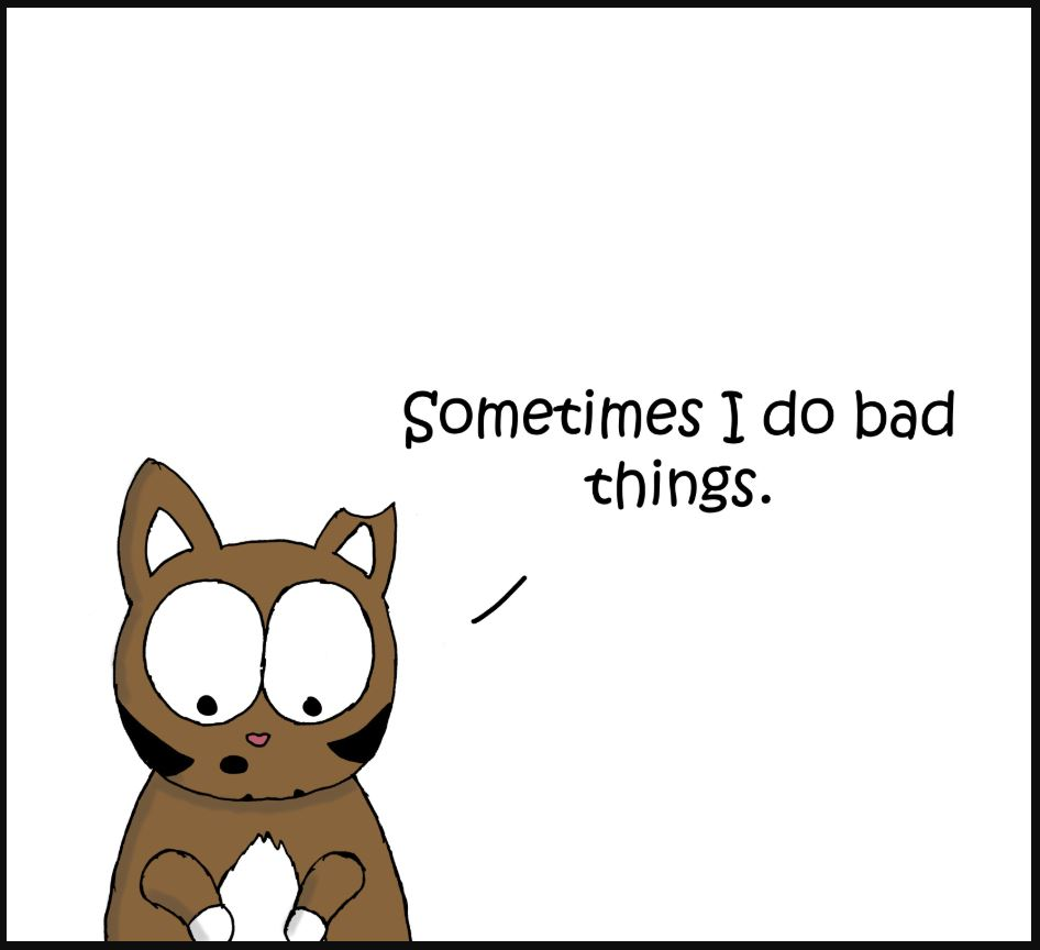 bad things cat comic 1