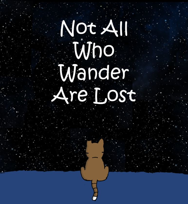 not all who wander are lost comic 1