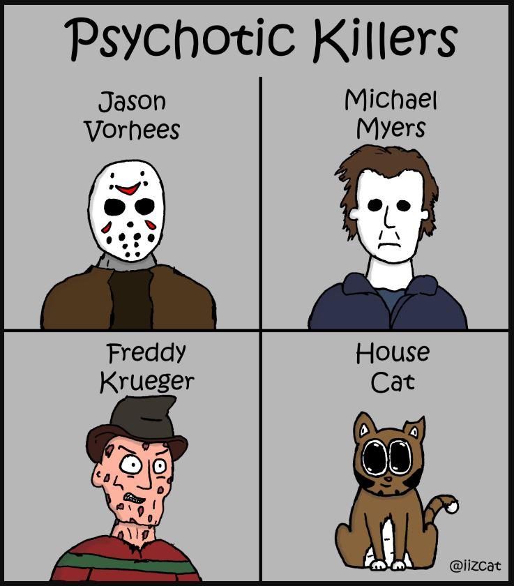 psychotic killers
