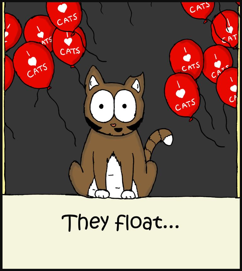 cat pennywise comic 3