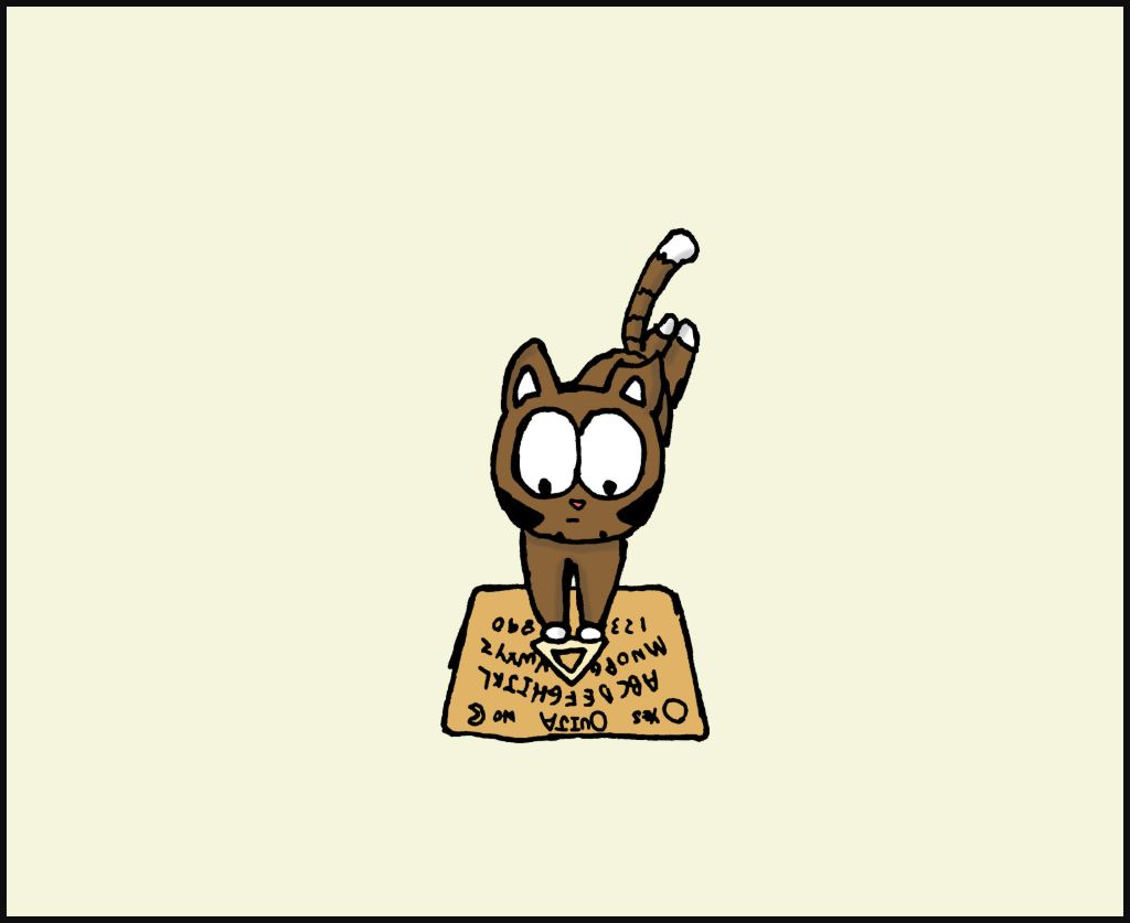 cat ouija comic 2
