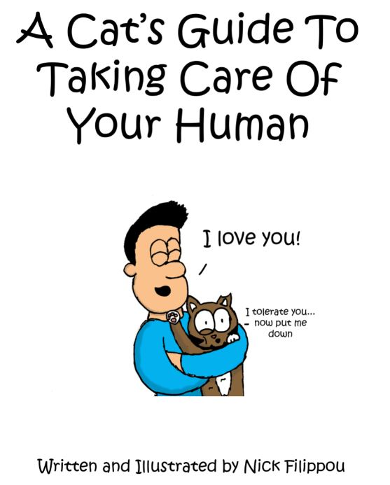 iizcat cats guide to taking care of your human
