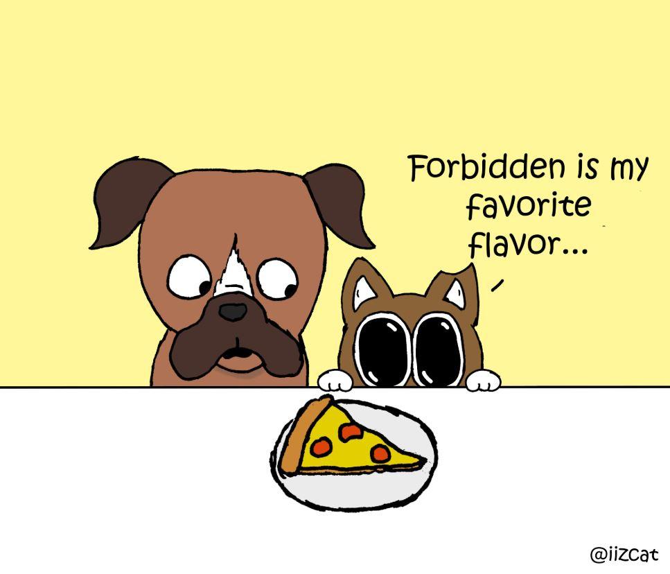 iizcat pizza comic 4