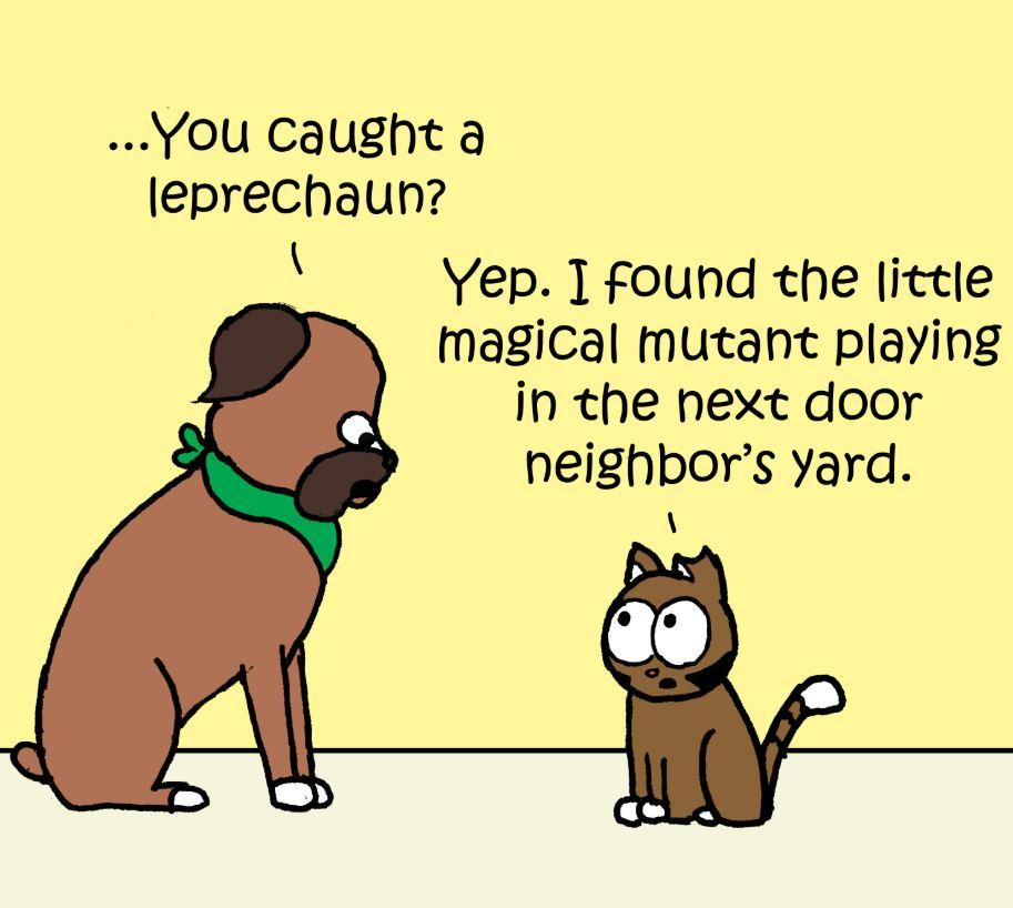 leprechaun comic 2