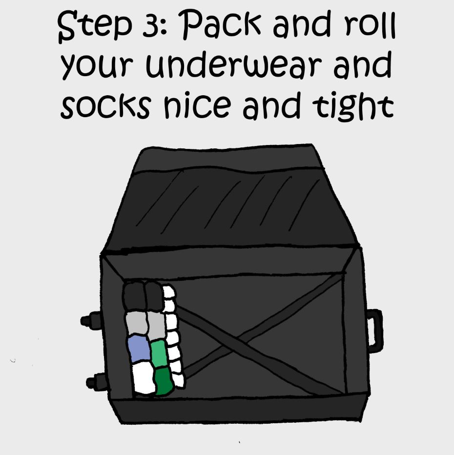 how to pack comic 3