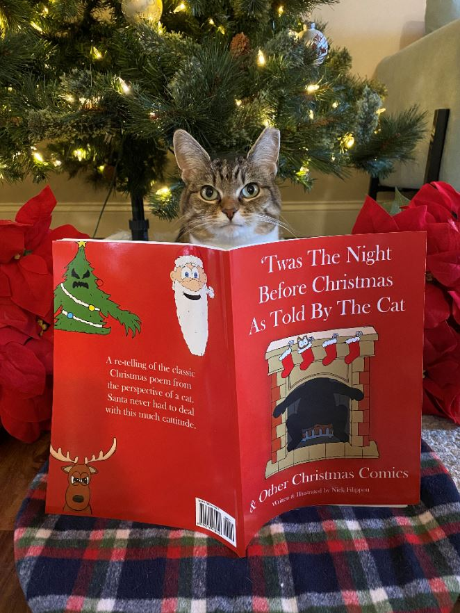 twas the night before christmas as told by the cat