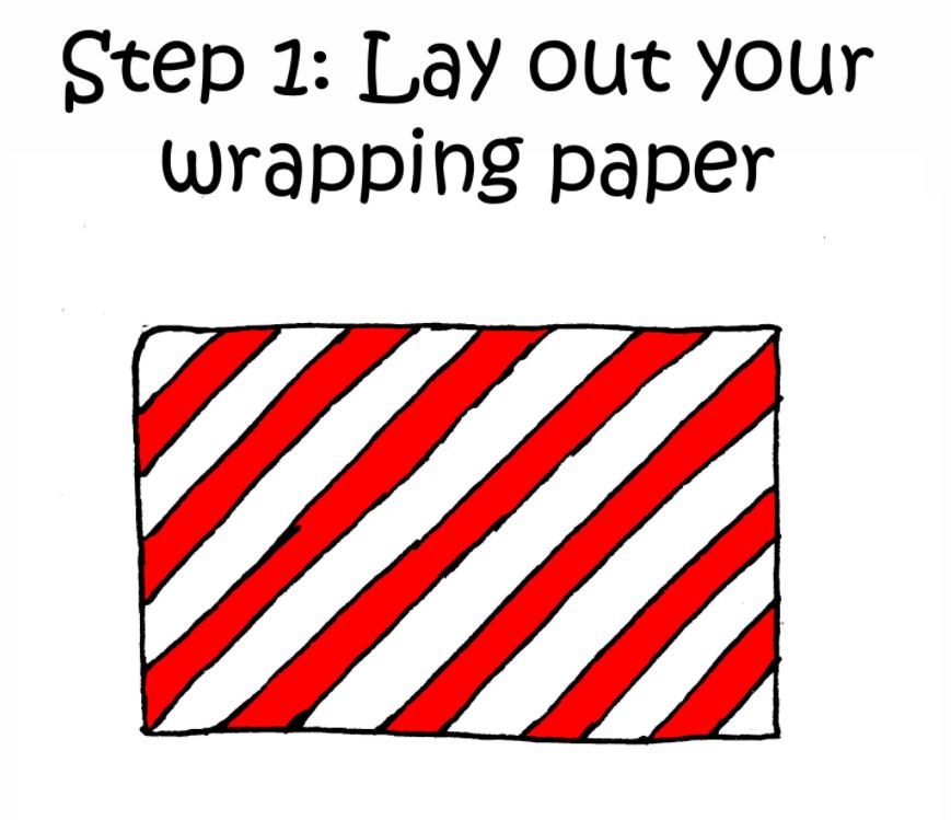 how to wrap a present when you have a cat 1
