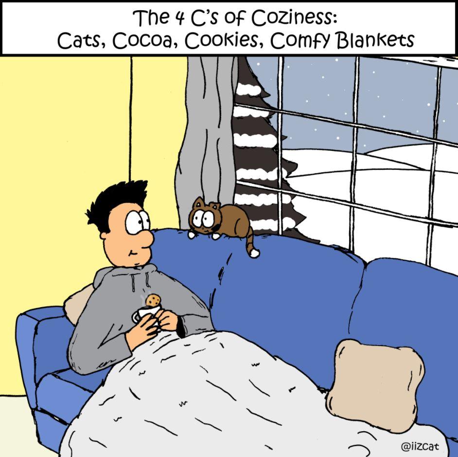 four cs of coziness